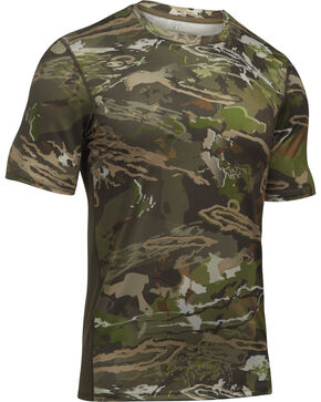 Under Armour Men's Camouflage Tech™ Hunting Shirt , Camouflage, hi-res
