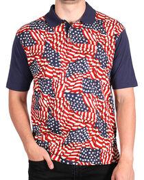 Cody James® Men's Americana Polo, , hi-res