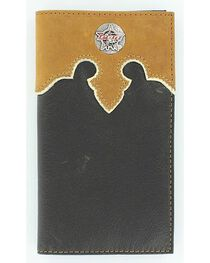 PBR Concho Leather Wallet, , hi-res