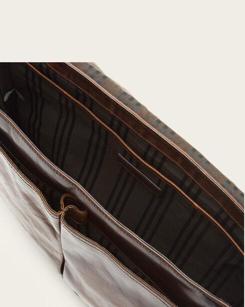 Frye Men's Dark Brown Oliver Messenger Bag , Dark Brown, hi-res