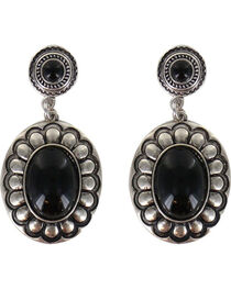 Shyanne® Women's Floral Concho Earrings , , hi-res
