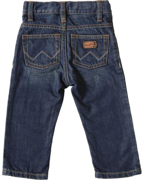 Wrangler Infant Boy's Western Jeans, Med Wash, hi-res