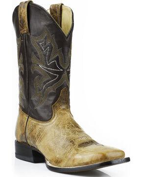 "Stetson Men's Elija 11"" Boots - Square Toe, Brown, hi-res"