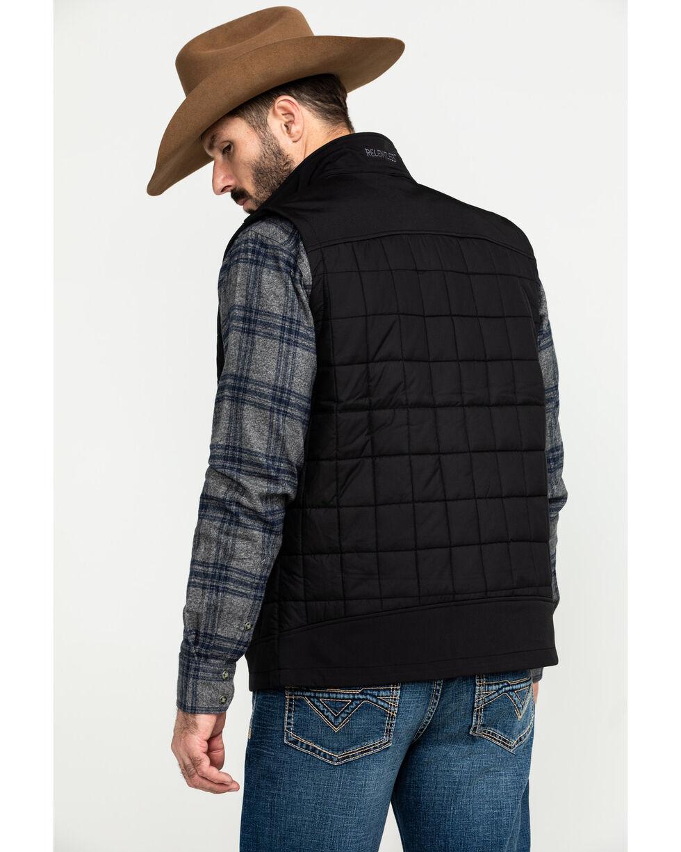 Ariat Men's Black Persistence Vest , , hi-res