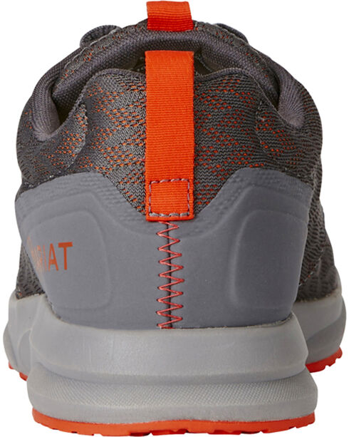 Ariat Men's Fuse Pattern Sneakers, Grey, hi-res