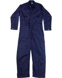 Lapco Men's Navy FR Deluxe Coveralls , , hi-res
