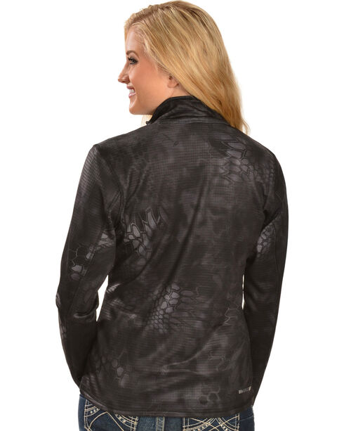 Ariat Women's Kryptek Yeti - Zip Jacket, Black, hi-res
