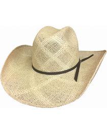Bullhide Texas Hill 50X Jute Straw Hat , , hi-res