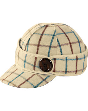 Stormy Kromer Women's Wintergreen Plaid The Button Up Cap, Multi, hi-res