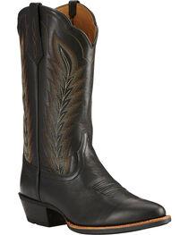 Ariat Men's Drifter Western Boots, Black, hi-res