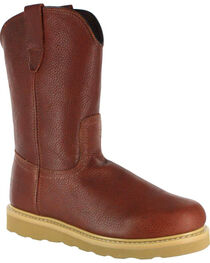 American Worker® Men's Round Toe Work Boots, , hi-res