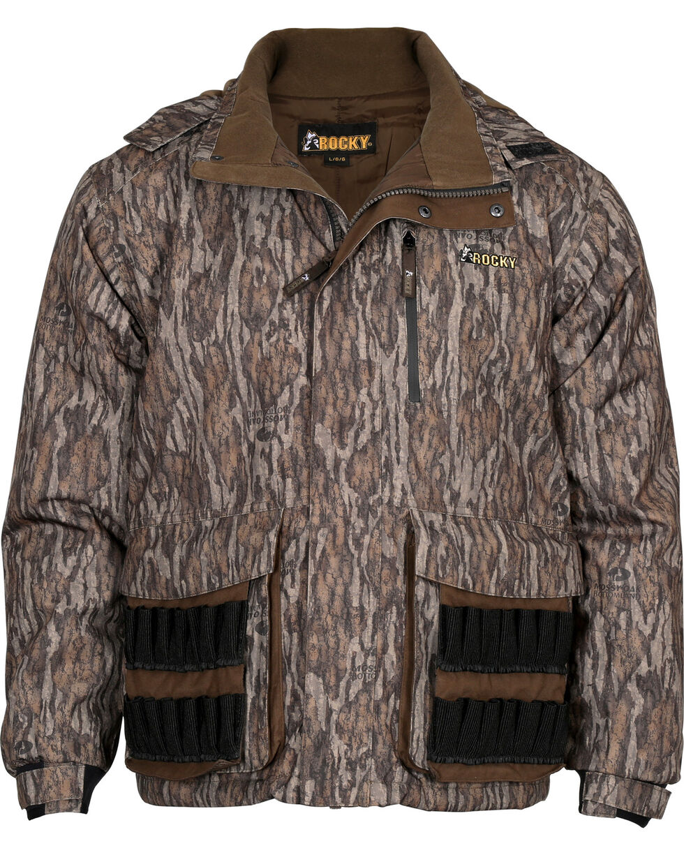 Rocky Men's Camo Waterfowl Waterproof Parka , Camouflage, hi-res