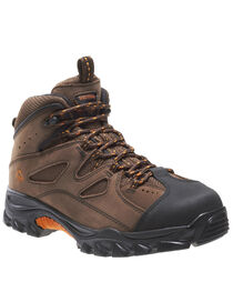 Wolverine Men's Hudson Mid Cut Steel Toe Hiker Boots, , hi-res