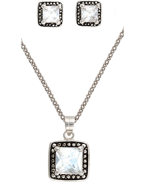 Montana Silvermiths Women's Star Lights Jewelry Set, Silver, hi-res