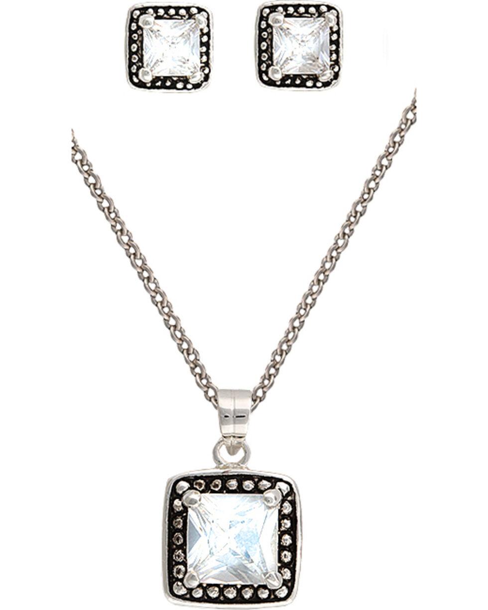 Montana Silvermiths Women's Star Lights Jewelry Set, Silver, hi-res