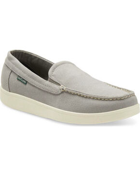 Eastland Men's Roscoe Canvas Slip On Shoes - Moc Toe, Grey, hi-res