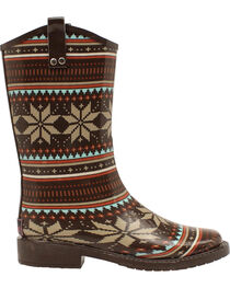 Blazin Roxx Women's Scarlett Rain Boots - Square Toe, , hi-res