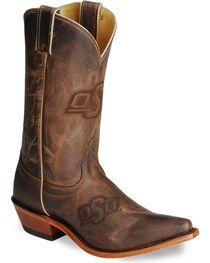 Nocona Women's Oklahoma State University College Boots, , hi-res