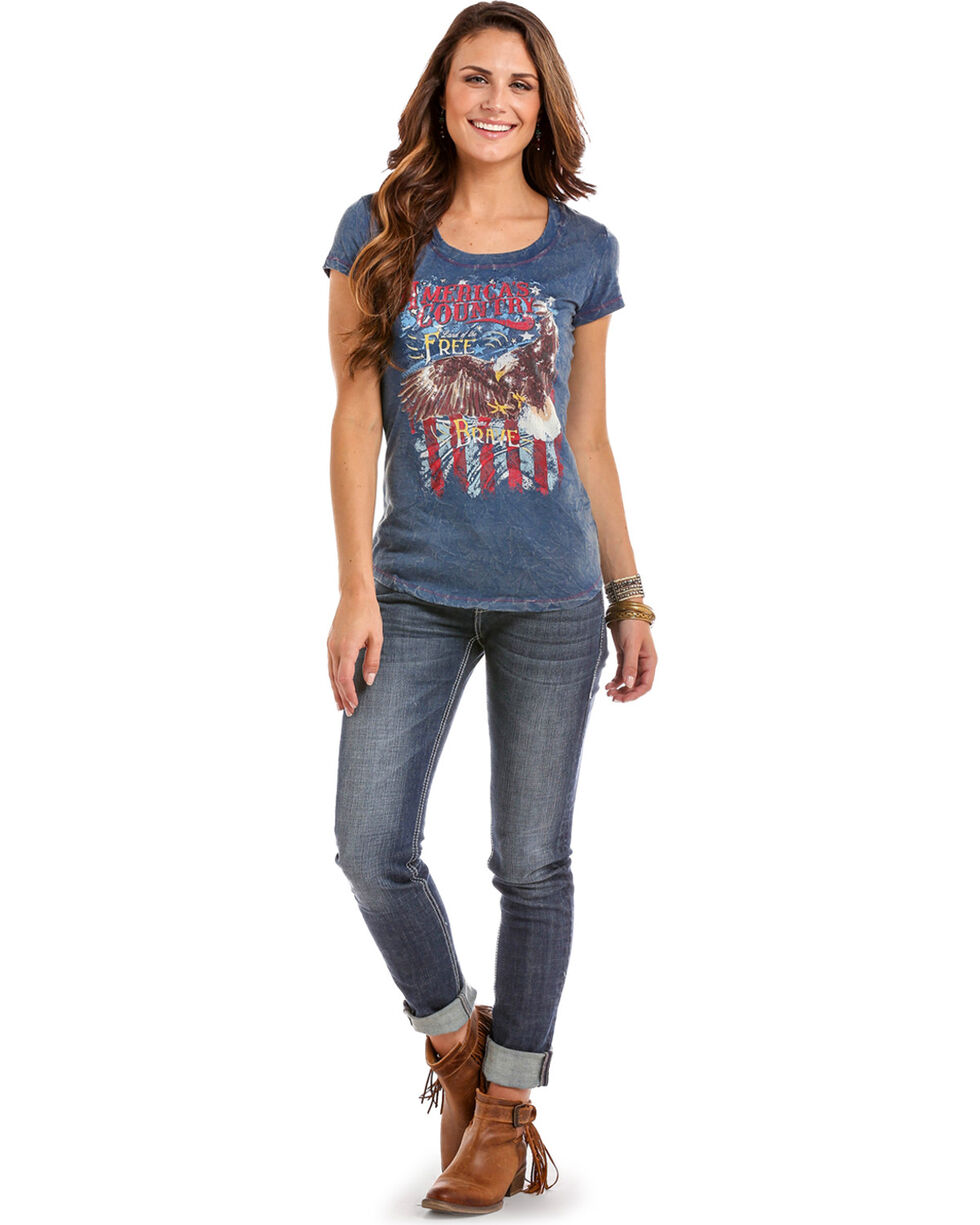 Panhandle Women's America's Country Eagle Tee, , hi-res