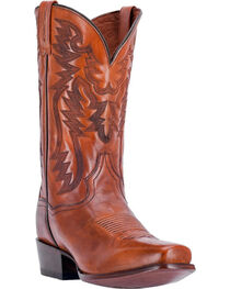 Dan Post Men's Centennial Cognac Western Boots - Square Toe, , hi-res