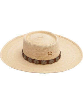 Charlie 1 Horse Women's High Desert Straw Hat, Natural, hi-res
