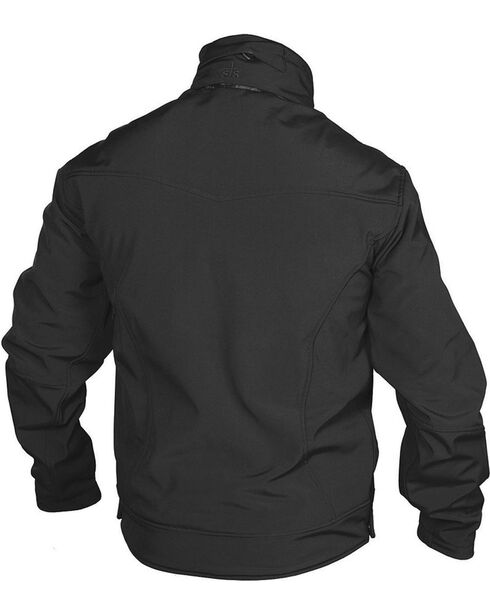 STS Ranchwear Men's Young Gun Black Jacket - Big & Tall - 2XL-3XL, Black, hi-res
