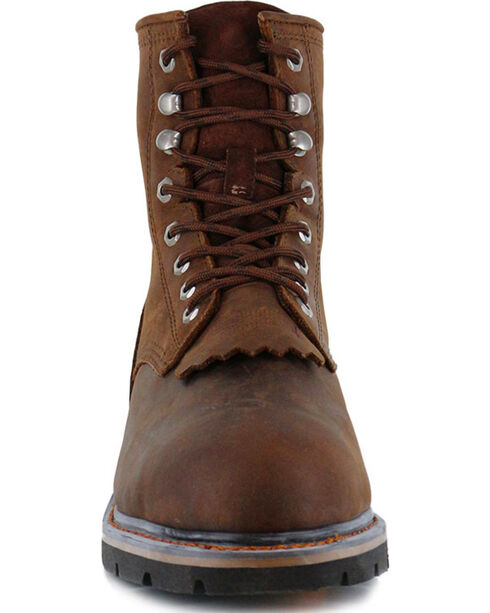 Cody James® Comp Toe Waterproof Kiltie Work Boots , Brown, hi-res