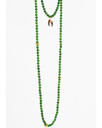 Everlasting Joy Jewelry Women's Green Cross Timbers Necklace , , hi-res