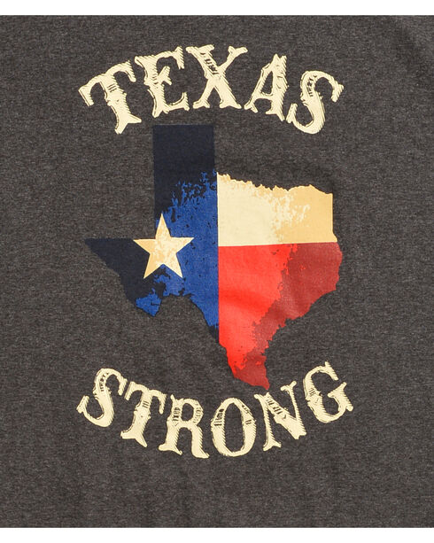 Cody James Men's Texas Strong T-Shirt, Black, hi-res