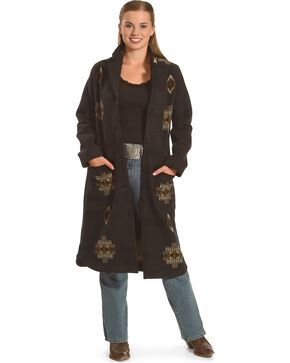 Pendleton Women's Black Saddle Mountain Coat , Black, hi-res