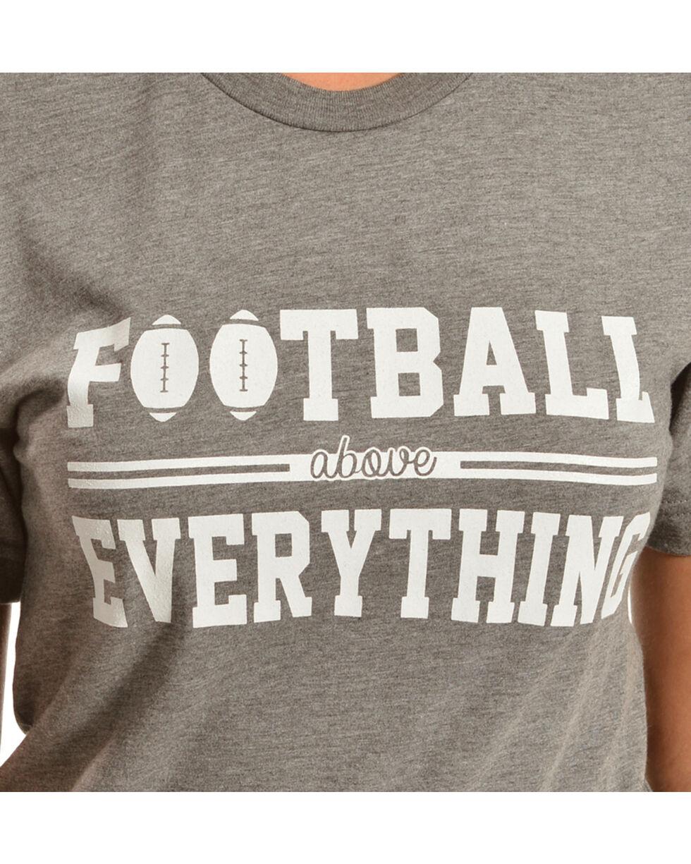ATX Mafia Football Above Everything Tee, Grey, hi-res