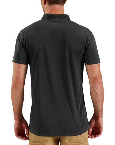 Carhartt Men's Black Force Extremes Polo, Black, hi-res