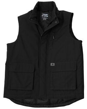 Wrangler Men's RIGGS Workwear Foreman Vest, Black, hi-res