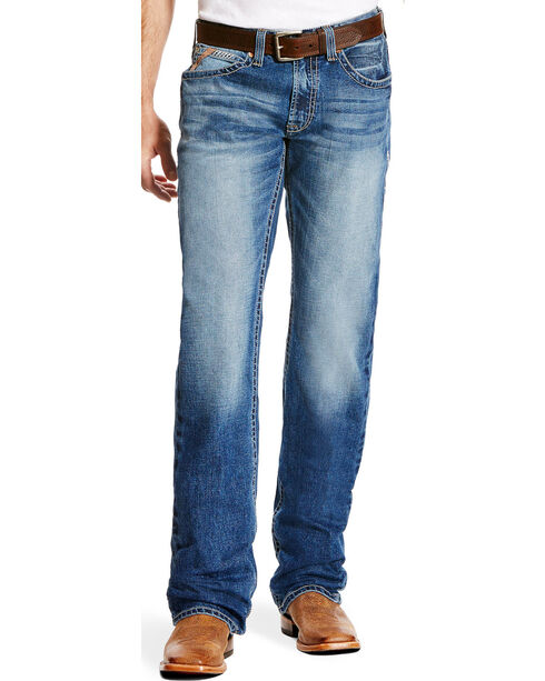 Ariat Men's M5 Stillwell Slim Low Rise Jeans - Straight Leg, Indigo, hi-res