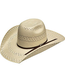 Twister Men's Ivory 20X Shantung Punchy Hat , , hi-res