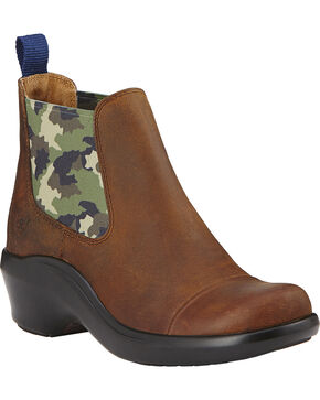 Ariat Chelsea Women's Clogs, Brown, hi-res