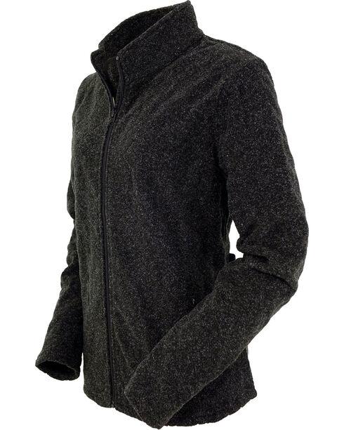 Outback Trading Company Women's Charcoal Kaelan Jacket , Charcoal, hi-res