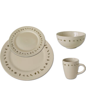 Moss Brothers 16-piece Brands Dinnerware Set , Ivory, hi-res