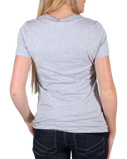 Rodeo Quincy Women's Heartbreak T-Shirt , Grey, hi-res