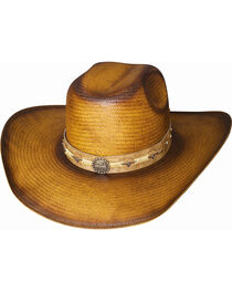 Bullhide Cattle Drive Straw Cowboy Hat , , hi-res