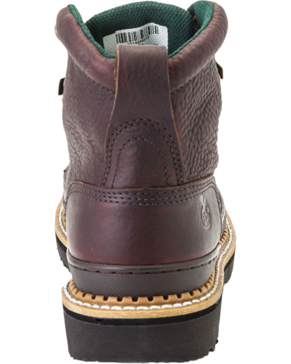 Georgia Women's Giant Steel Toe Work Boots, Brown, hi-res
