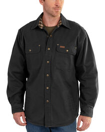 Carhartt Weathered Canvas Shirt Jacket - Big & Tall, , hi-res