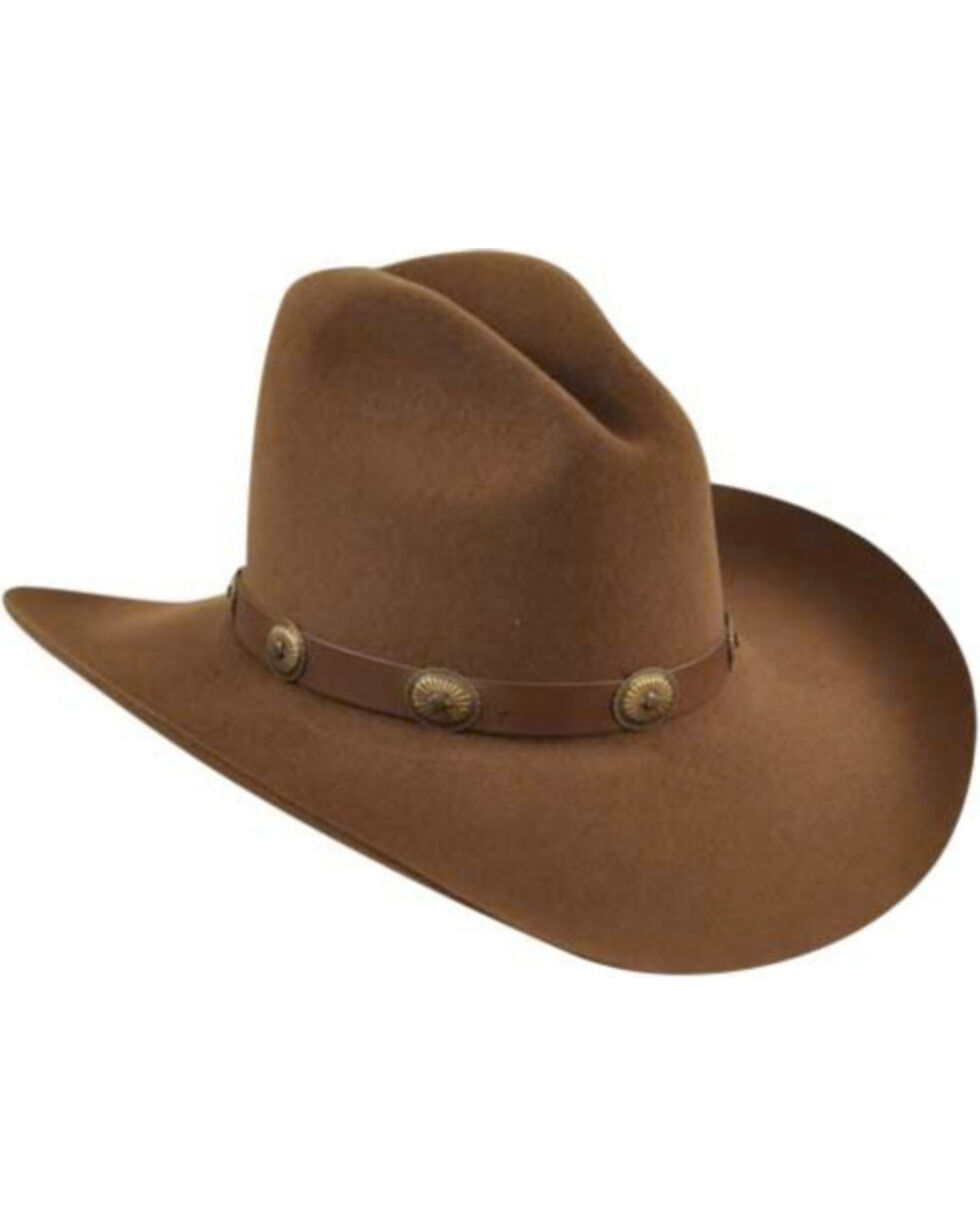 Bailey Western Tombstone Pecan Brown Hat, Pecan, hi-res