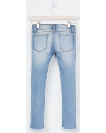 Miss Me Girls' Blue At Attention Ankle Jeans - Skinny , , hi-res