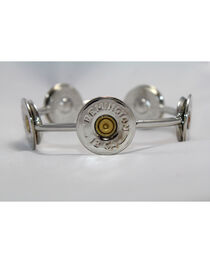 SouthLife Supply Susan Shotshell Bangle Bracelet in Traditional Silver, , hi-res