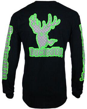 Bucked Up men's Black Diamond Plate Logo Shirt , Black, hi-res