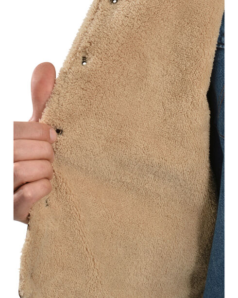 Scully Men's Boar Suede Hunting Vest, Brown, hi-res