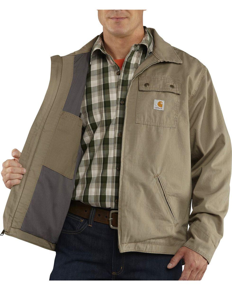 Carhartt Men's Flint Jacket, Desert, hi-res
