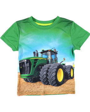 John Deere Toddler Boys' Tractor T-Shirt, Green, hi-res