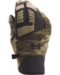 Under Armour Ridge Reaper Forest Camo Speedfreak Wool Gloves , , hi-res